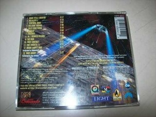 Cd - Star Trek - First Contact - Jerry Goldsmith - Importado na internet