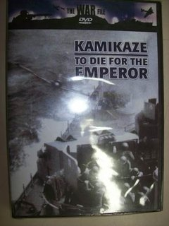 Dvd - The War File - Kamikaze - To Die For The Emperor -novo