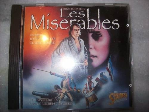 Cd - Les Míserables - Highlights - Musical - Usado