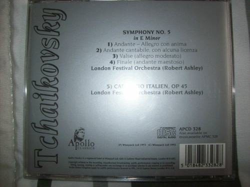 Cd - Tchaikovsky - Symphony No. 5 In E Minor - Importado - comprar online