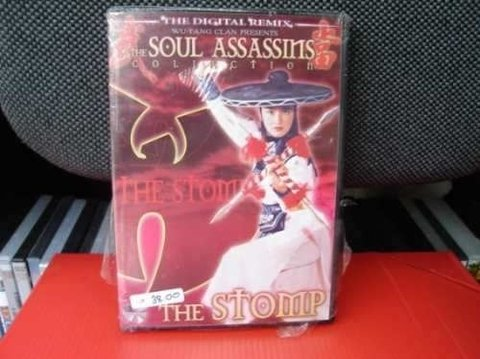Dvd - The Stomp - The Soul Assassins Collection - Importado