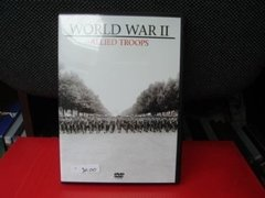 Dvd-documentario-world War 2-allied Troops-importado