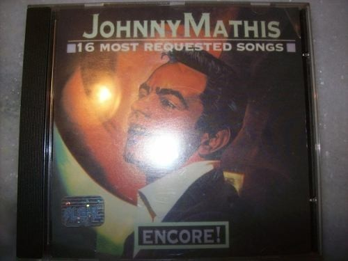 Cd - Johnny Mathis - 16 Most Requested Songs - Nacional
