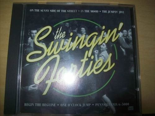 Cd - The Swingin' Forties - K-tel - Nacional - Usado