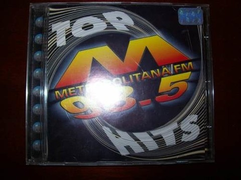 Cd - Metropolitana Fm 98.5 - Top Hits - Usado