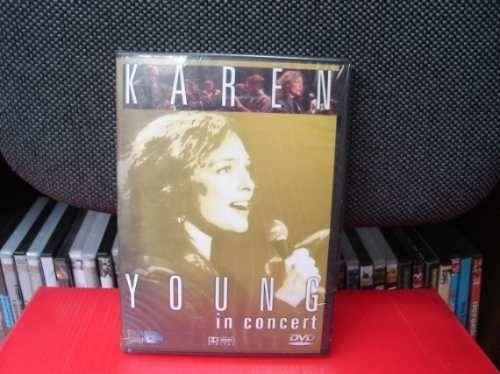 Dvd - Karen Young - In Concert - Lacrado