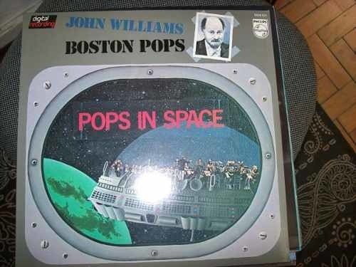 Lp - Boston Pops - John Williams - Pops In Space - Importado
