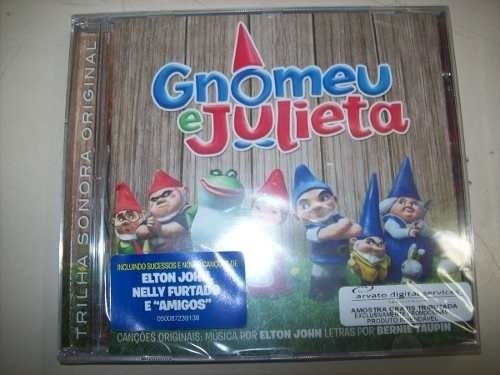 Cd - Gnomeu & Julieta - Elton John - Soundtrack - Lacrado