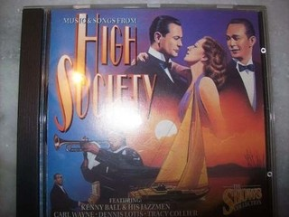 Cd - High Society - Musical - Nacional - Usado