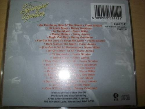Cd - The Swingin' Forties - K-tel - Nacional - Usado - comprar online