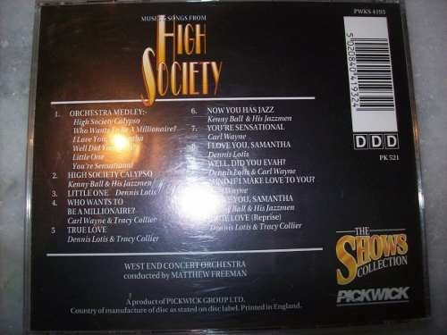 Cd - High Society - Musical - Nacional - Usado - comprar online