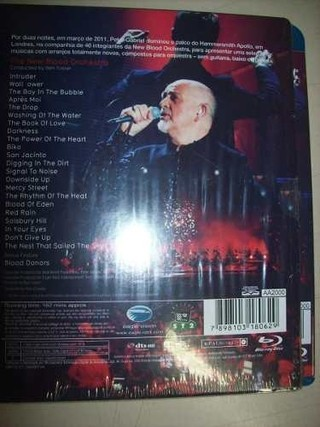 Blu Ray - Peter Gabriel -new Blood- Live In London -nacional - comprar online