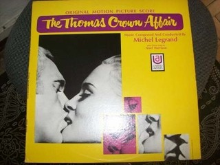 Lp - The Thomas Crown Affair - Michel Legrand - Importado