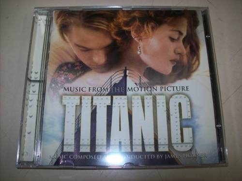 Cd - Titanic - James Horner - Nacional - Usado