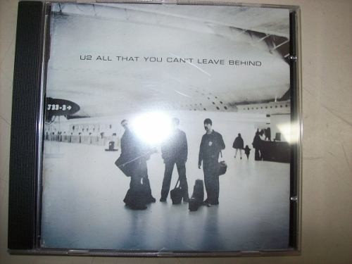 Cd - U2 - All That You Can't Leave Behind - Nacional - Usado
