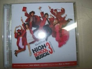 Cd - High School Musical 3 - Ano Da Formatura - Cd + Dvd