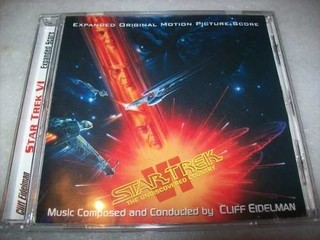 Cd - Star Trek 6 - The Undiscovered Country - Completo -rare