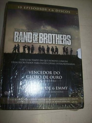 Dvd - Band Of Brothers - Mini-series - 6 Dvds - Nacional - comprar online