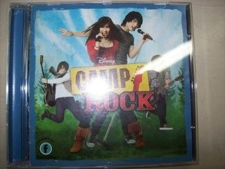 Cd - Camp Rock - Jonas Brothers / Demi Lovato - Importado