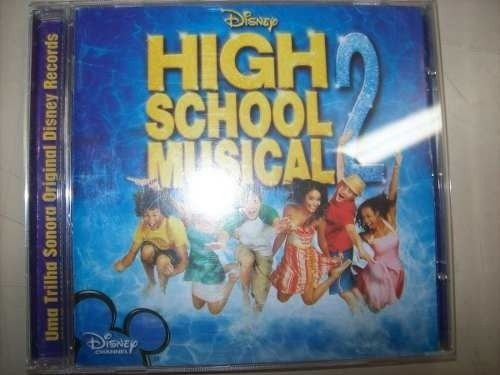 Cd - High School Musical 2 - Disney - Nacional - Usado