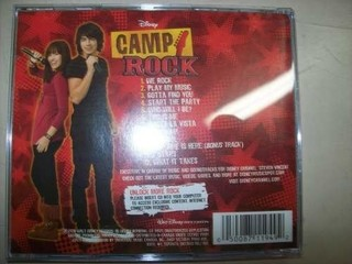 Cd - Camp Rock - Jonas Brothers / Demi Lovato - Importado na internet