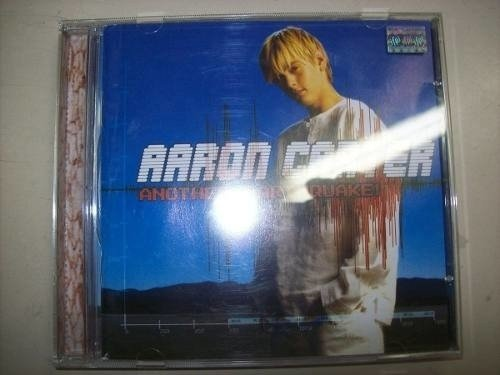 Cd - Aaron Carter - Another Earthquake! - Nacional - Usado