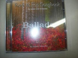 Cd - Rock & Pops Songbook - Ballads - For Piano And Orch.