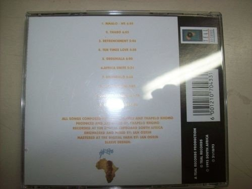 Cd - Bayete And Jabu Khanyile - Mmalo-we - Importado na internet