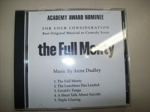 Cd - Ou Tudo Ou Nada - The Full Monty - Anne Dudley-academia
