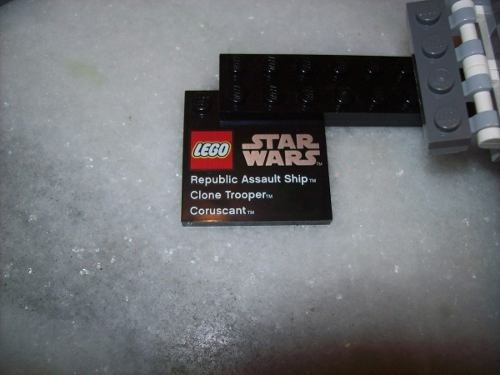 Lego Star Wars - Republic Assault - Coruscant - 75007 (Usado) na internet