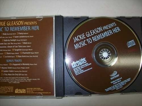 Cd - Jackie Gleason Presents - Music To Remember Her - Imp. - comprar online