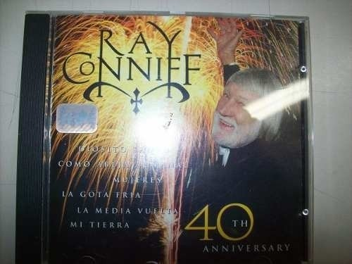 Cd - Ray Coniiff - 40th Anniversary - Nacional - Usado