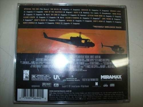Cd - Apocalypse Now - Redux - Original Soundtrack - Nacional na internet