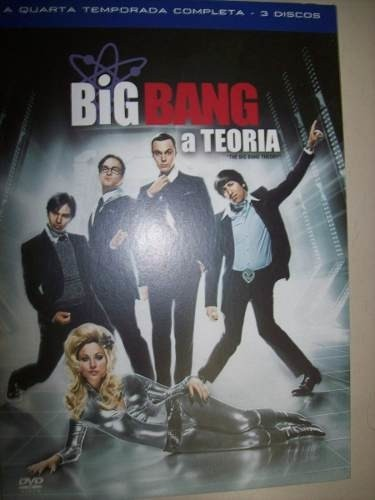 Dvd - Big Bang A Teoria - Quarta Temporada Completa - 3 Disc