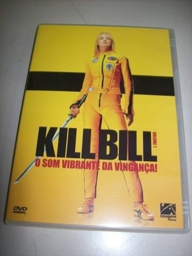 Dvd - Kill Bill - Volume 1 - Tarantino - Nacional