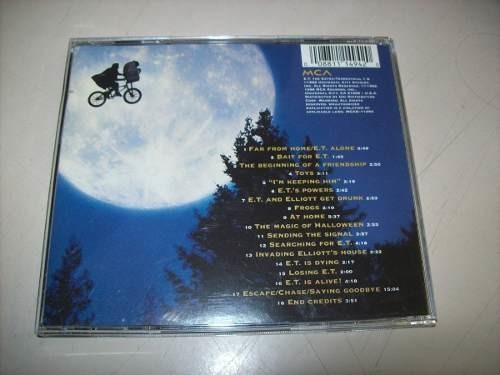 Cd - The Extra-terrestrial - John Williams - Importado na internet