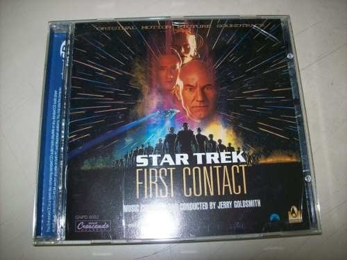 Cd - Star Trek - First Contact - Jerry Goldsmith - Importado