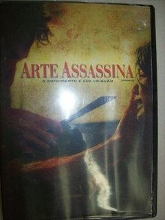 Dvd - Arte Assassina - Chiseled - Nacional - Usado
