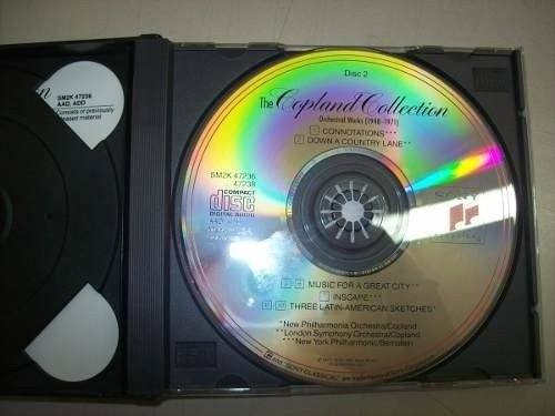 Cd - The Copland Collection - Orchestral Works - 1948-1971 na internet
