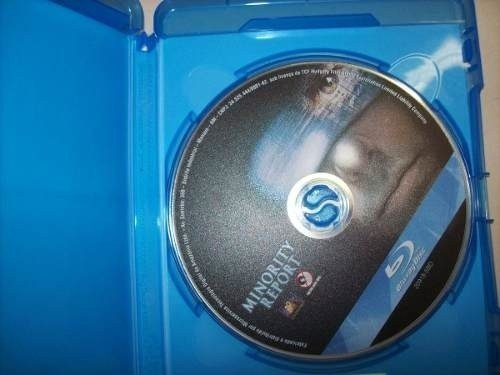 Blu Ray - Minority Report - Tom Cruise - Nacional na internet