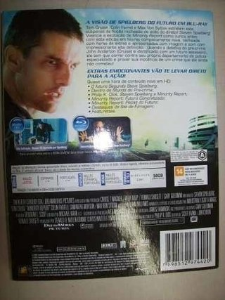 Blu Ray - Minority Report - Tom Cruise - Nacional - Always Discos