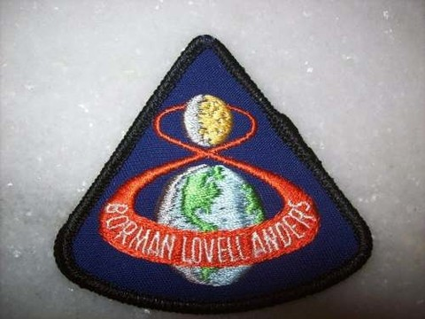 Patch Original - Apollo 8 - Importado - Novo