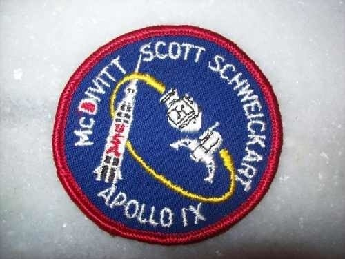 Patch Original - Apollo 9 - Importado - Novo
