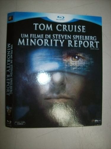Blu Ray - Minority Report - Tom Cruise - Nacional