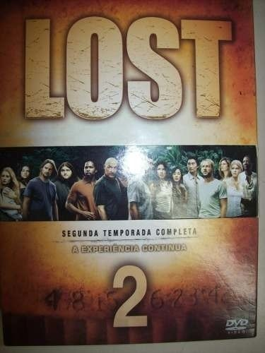 Dvd - Lost -2 Temporada Completa-box Set Com 7 Dvds-nacional