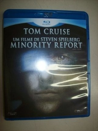 Blu Ray - Minority Report - Tom Cruise - Nacional - comprar online