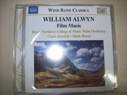 Cd - William Alwyn - Film Music - Naxos - Importado-lacrado