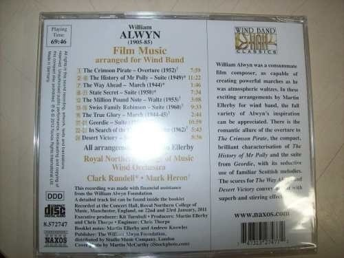 Cd - William Alwyn - Film Music - Naxos - Importado-lacrado - comprar online