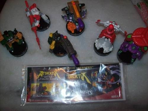 Lote com 6 Figuras: Transformers - Battle Figure Game - Hasbro - comprar online