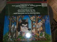 Lp - Boston Pops - John Williams - Peter And The Wolf - Imp. - comprar online